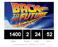 back to the future count down