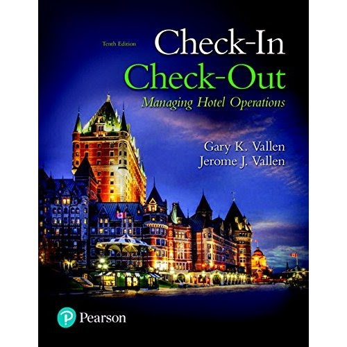 Download Check-in Check-Out: Managing Hotel Operations (10th Edition