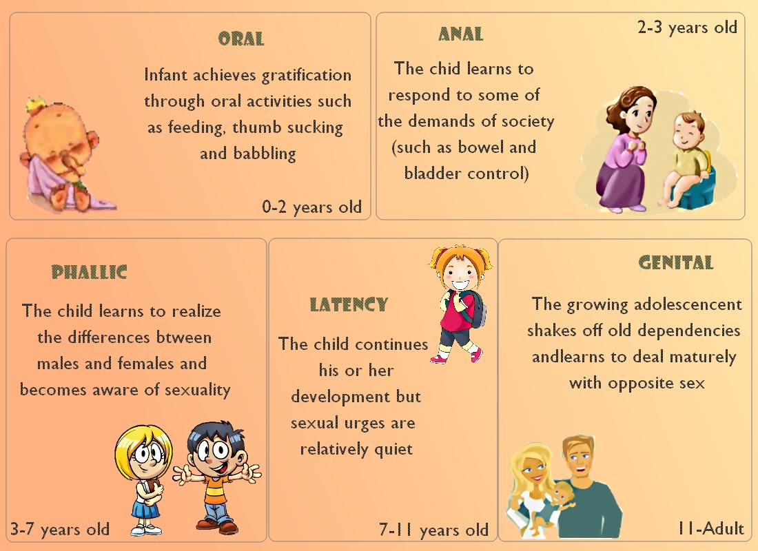 Psychosexual developmental stages