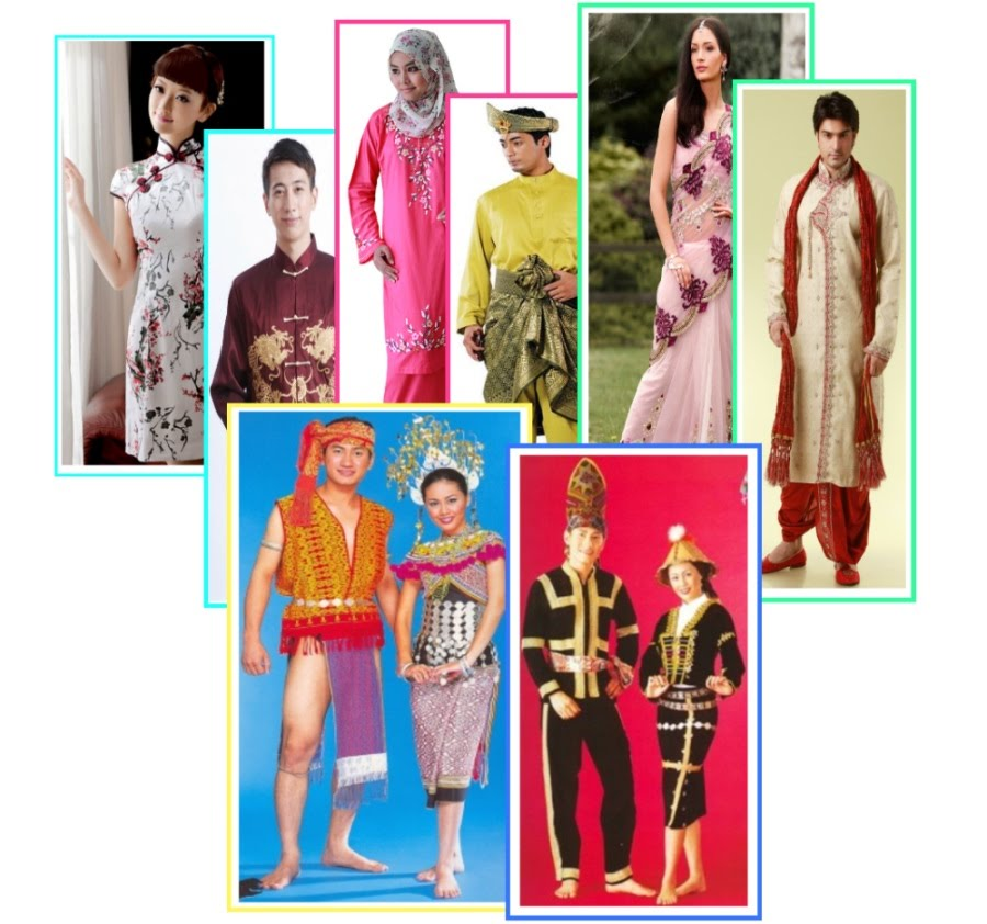 Malay traditional dress teen