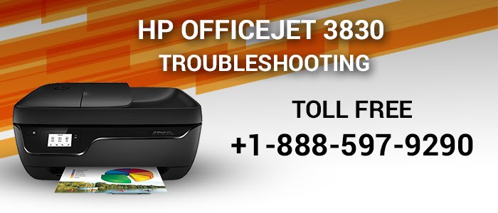 Fixing HP officejet 3830 troubleshooting Issues |123 hp com
