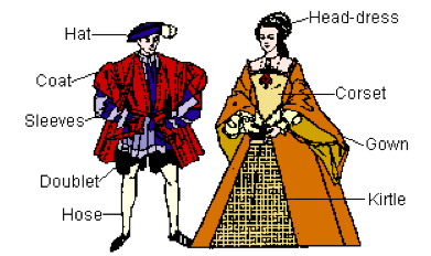 What did tudors wear