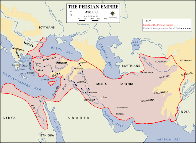 Persian Empire 490 BCE