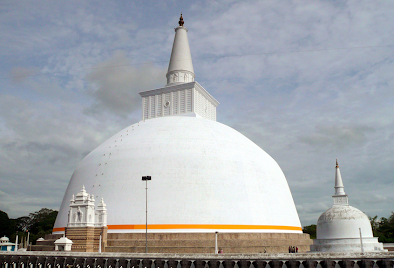Buddhist Stupa in Sri Lanka