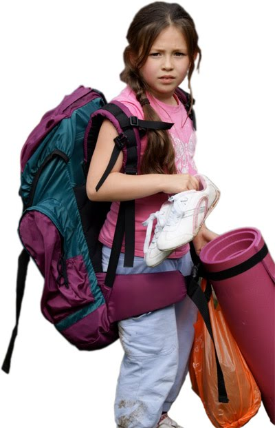 Young person ready for adventure