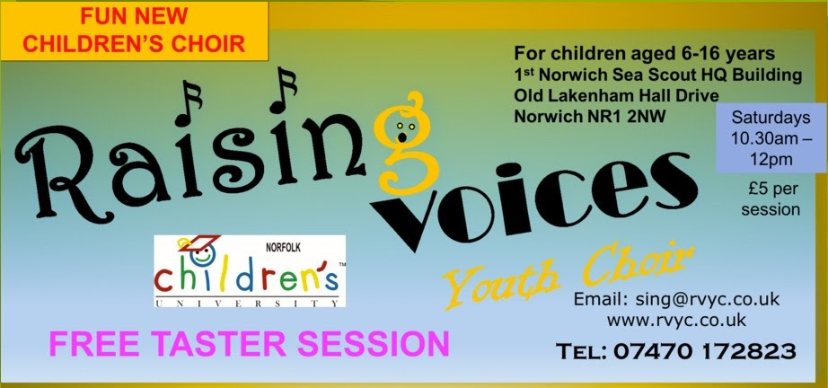 Come and Join the choir  www.rvyc.co.uk