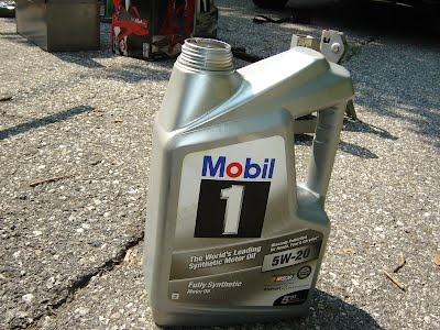 View of Mobil1 5W-20