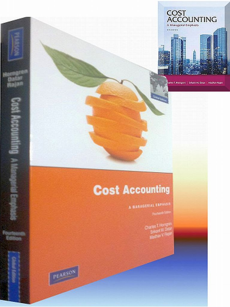 Cost accounting a managerial emphasis solutions