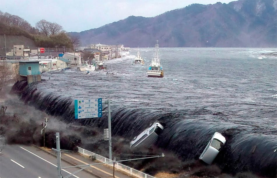 Primary Effects - 2011 Tohoku Earthquake and Tsunami