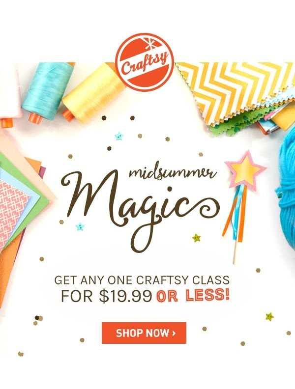 Latest add Craftsy Coupons