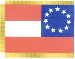 Bachman's Battery Guidon, Reverse Side