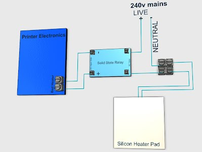 sorting out the heated bed issues flexible silicon pads ssr wiring click on the image to enlarge it