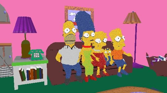 The Simpsons 3d Movie Maker