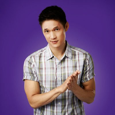 """Harry Shum Jr. played a teenager in """"Glee"""" actors playing teenagers"""