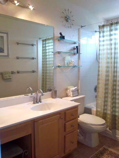 Luxury Master Bathroom Beautiful solid maple cabinets with brushed nickel hardware upgraded faucet and light fixture extended toilet large garden tub