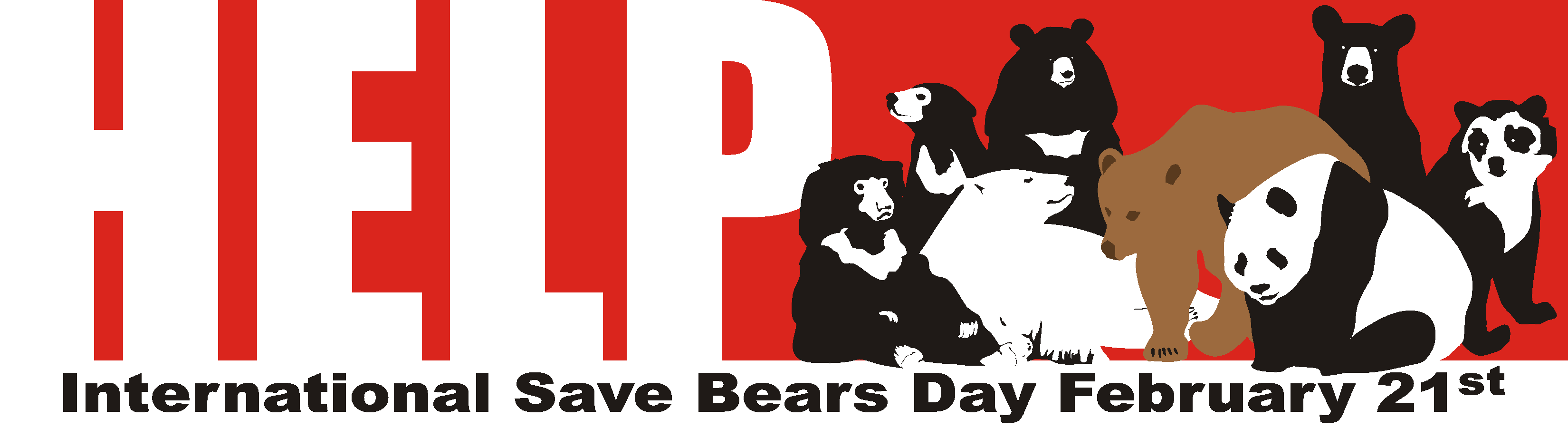 International Save Bears Day - 8 Bears Forever
