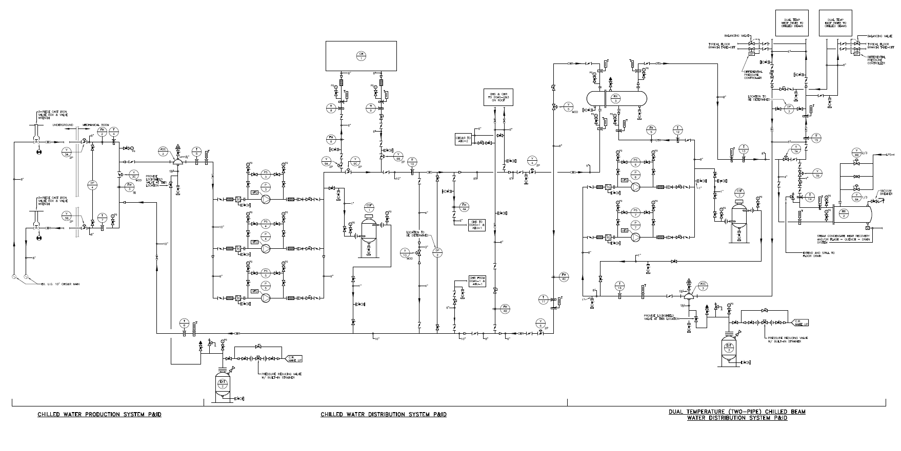 hvac p id drawing wiring library HVAC Ductwork Layout Design dual temperature