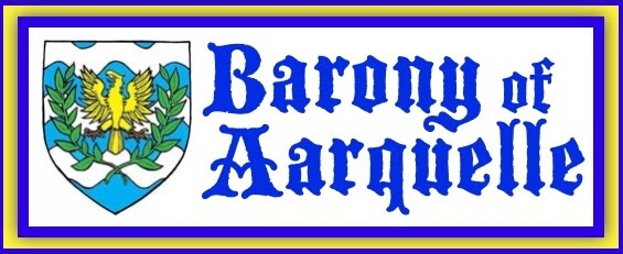 Running an Aarquelle Event - Barony of Aarquelle