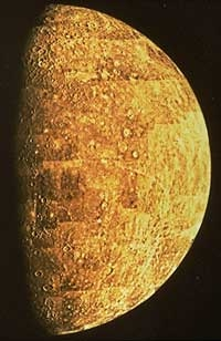 Planet's Surface Features - About Planet Mercury