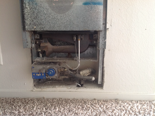 A furnace with dust buildup can be a fire hazard.
