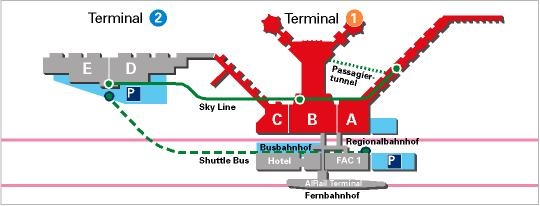frankfurt airport arrivals map Travel And Arrival Information Academic Year In Freiburg frankfurt airport arrivals map