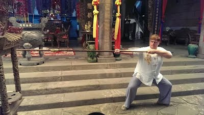 Ip Man Wing Chun Long Pole, Cholon Pagoda