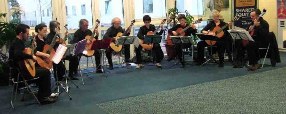 Free Guitar Quartet, Trio, Duet and Ensemble Music - Steve's Page