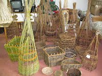 An Array of baskets which I have made.