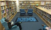 ACHS Library Reading Nook