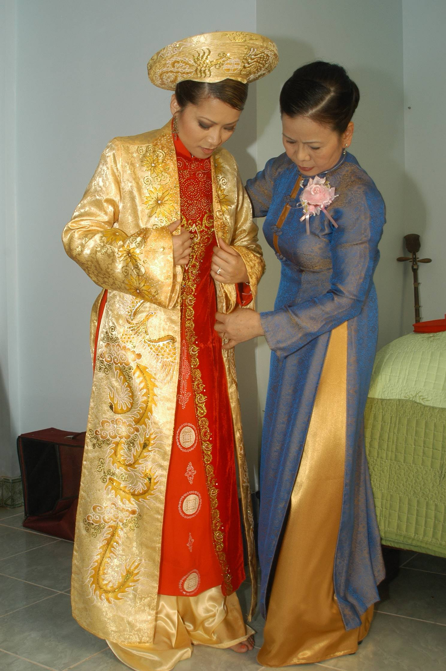 Vietnamese Wedding Dresses 109
