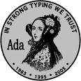 "Project logo ""In strong typing we trust"""