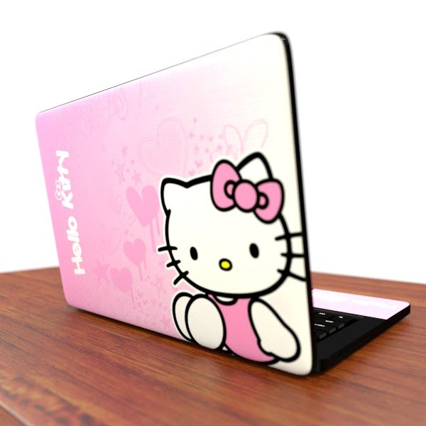 Foto do adesivo para notebook Hello Kitty