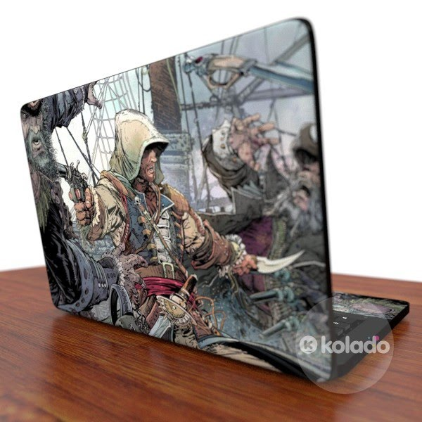 Adesivo para notebook do game Assassins Creed