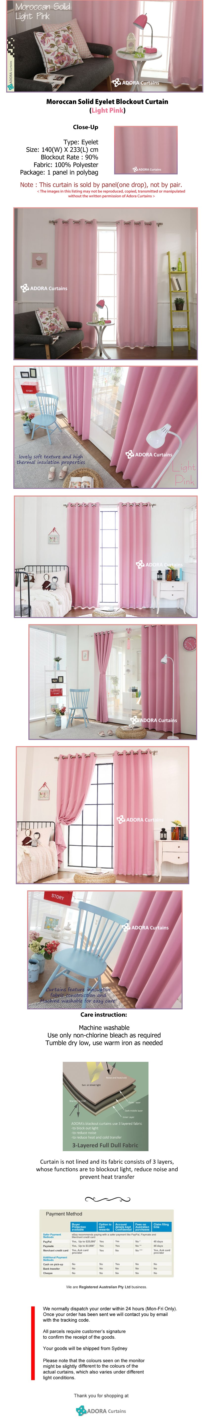 Moroccan Solid - Light Pink