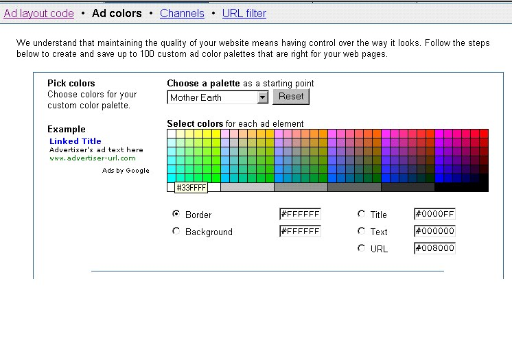 how to change background color in google sites