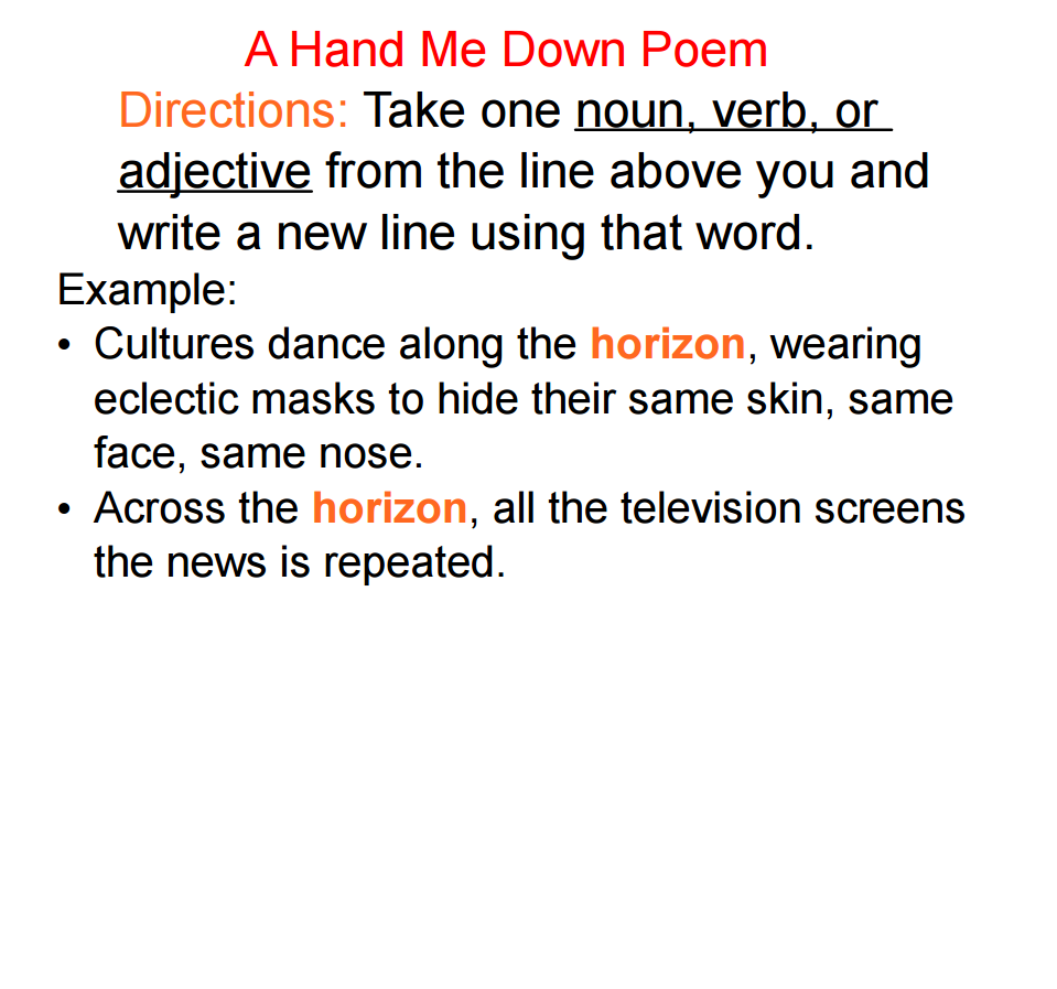 Interactive Whiteboard Poetry Stuff - Adventures of a Teacher ...