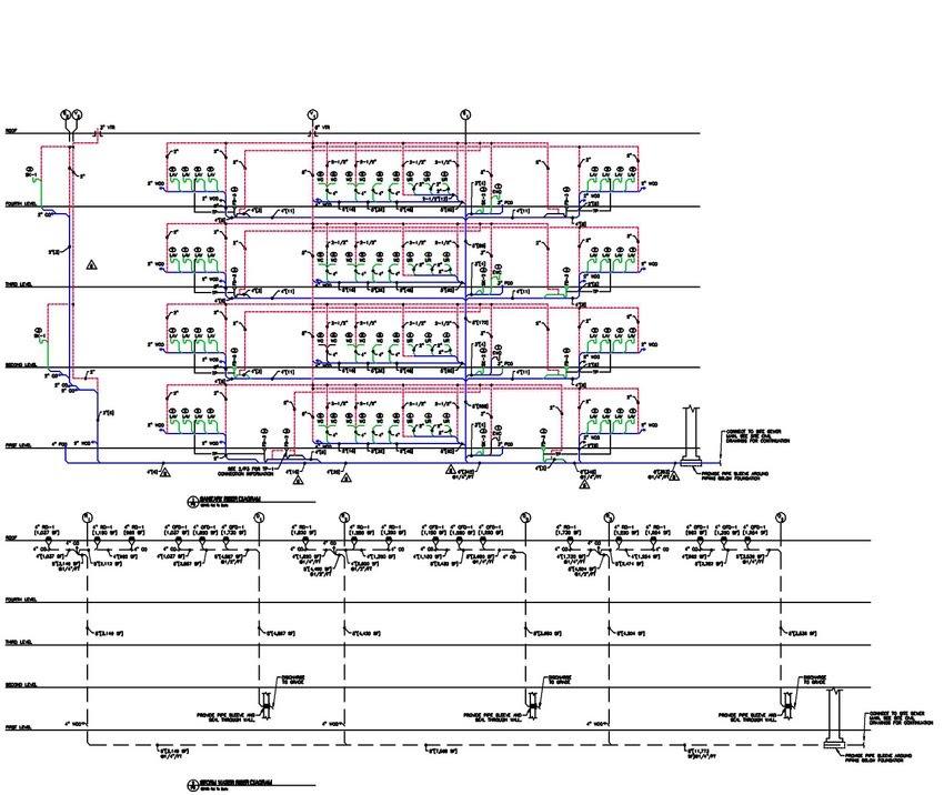 P Custom Rot Size on Hvac System Schematic