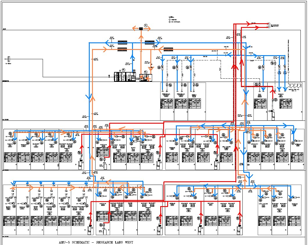Diagrams And Description Papadakis Integrated Sciences Building Hvac Drawings Pictures Source Mechanical Sheet No M 710