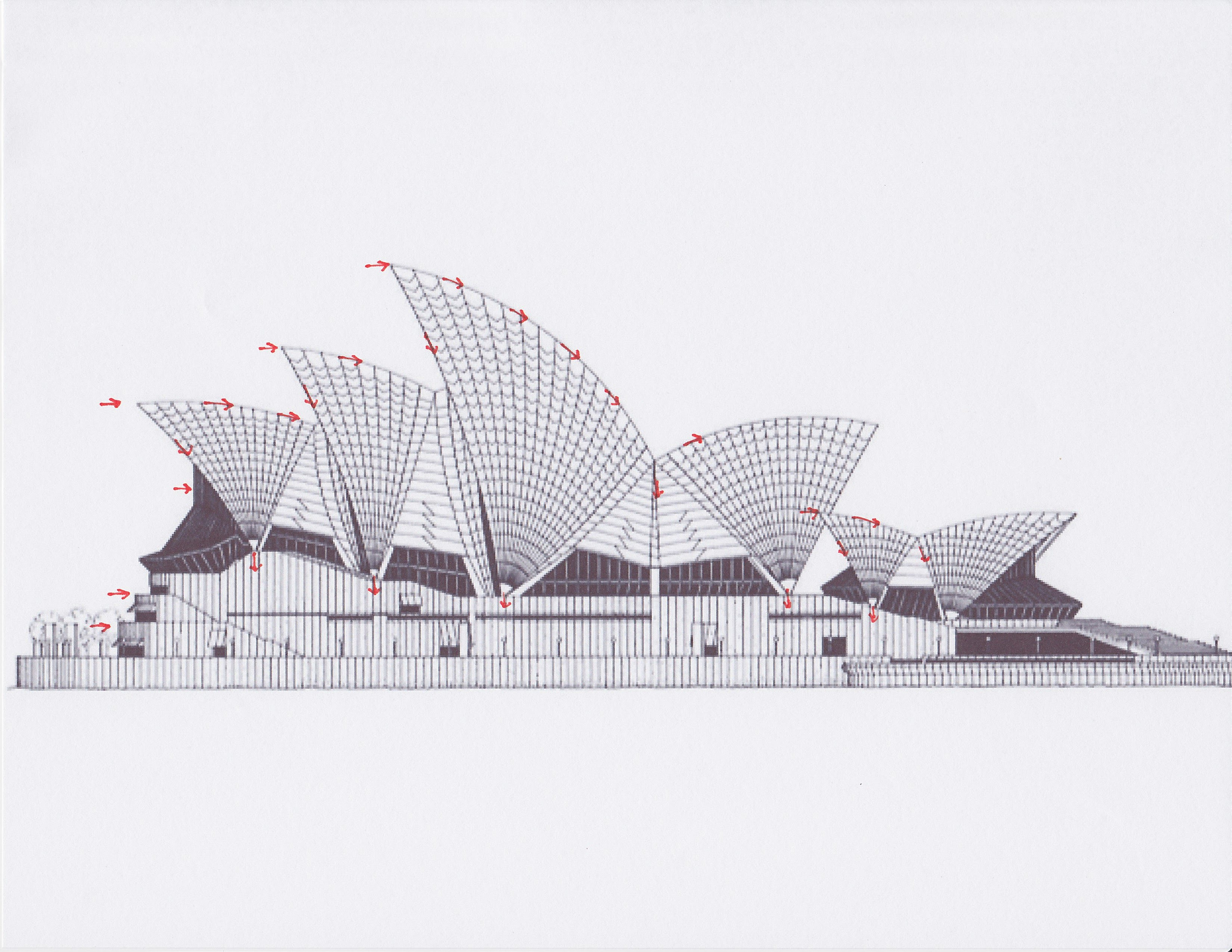 Structural System Ae 390 Sydney Opera House