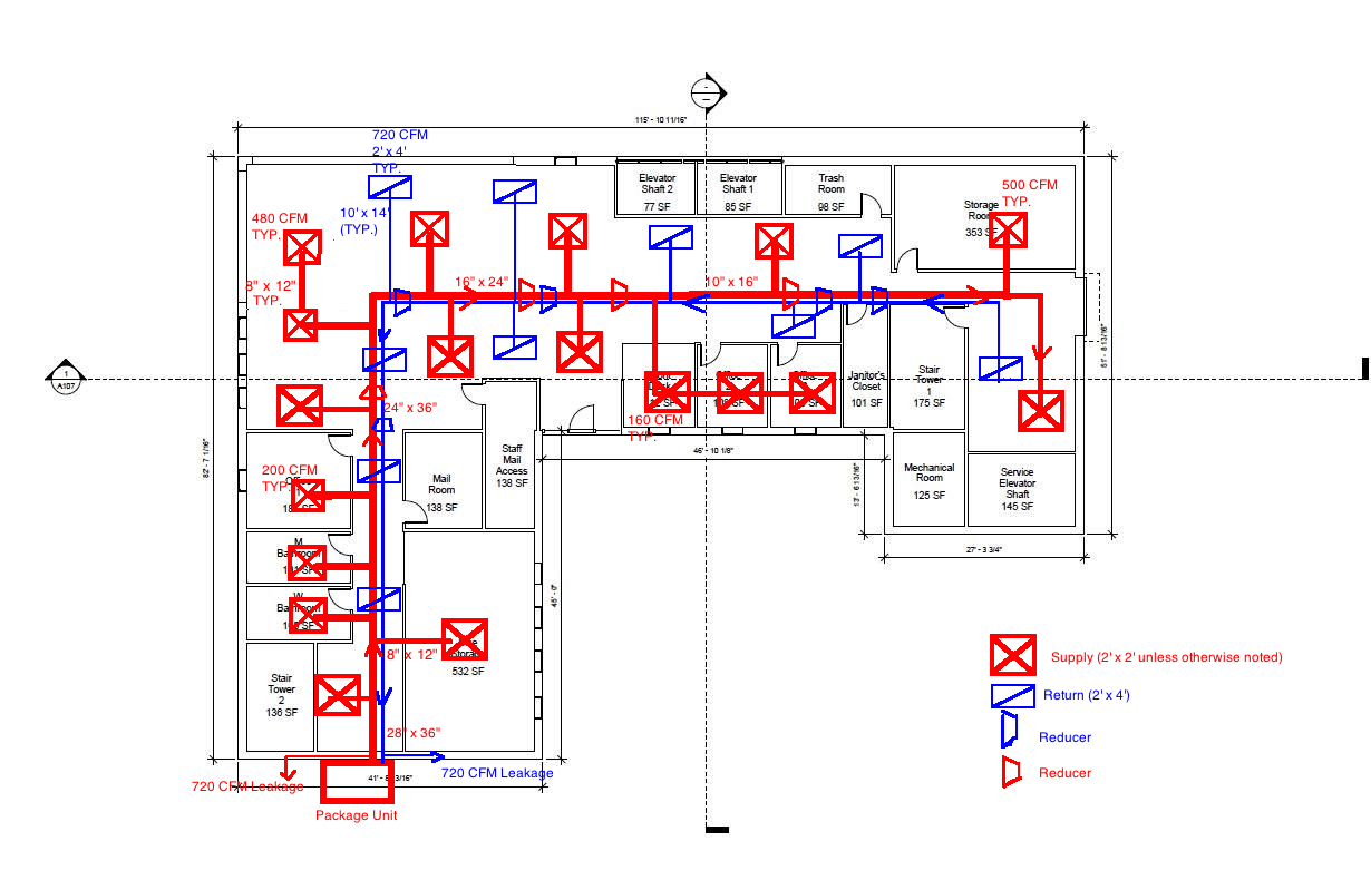 first floor plan 1?height=259&width=400 hvac single line diagram ae 391 hvac design hvac systems diagrams at reclaimingppi.co