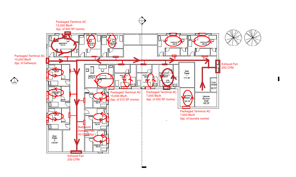 Floors 2 18 Single Line Diagram?height=240&width=400 hvac single line diagram ae 391 hvac design diagram for vacuum lines for 2002 ford ranger at fashall.co