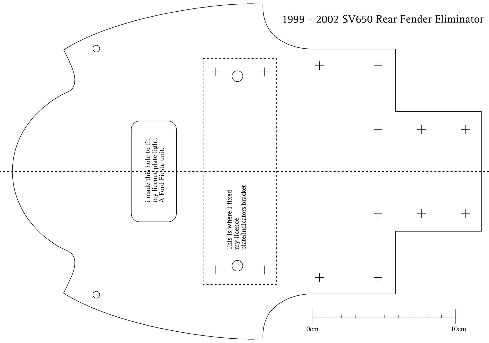 looking for a tail tidy template - sv650 org