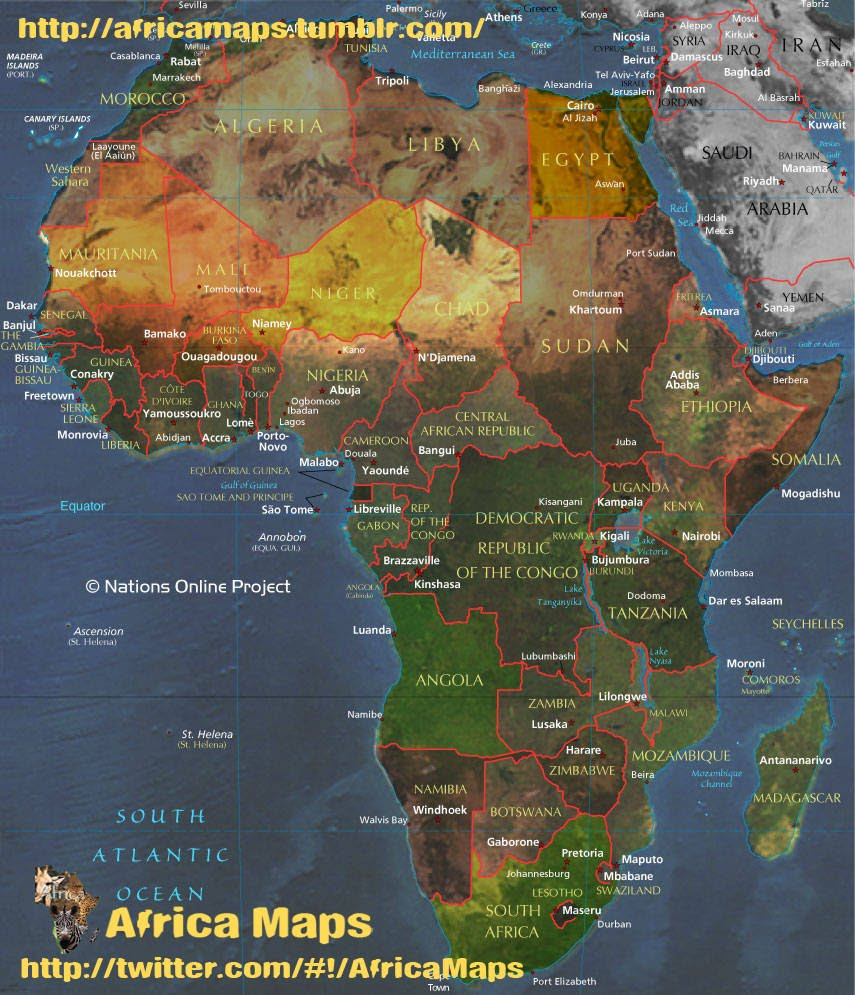 Africa Maps: Africa Maps