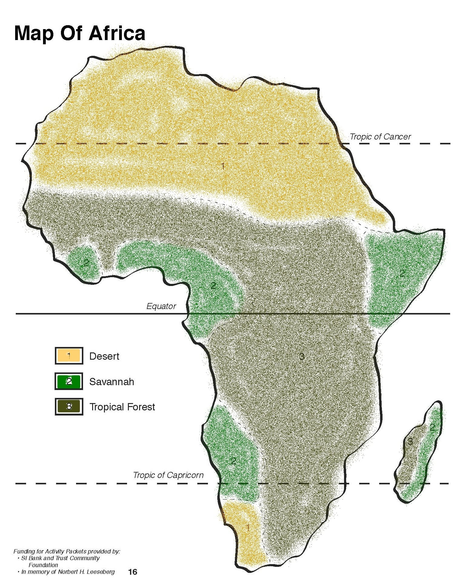 where is the tropical rainforest in africa