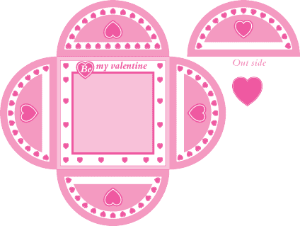 Craft Ideas Sell on Valentine Card   Free Kids Crafts Idea Template