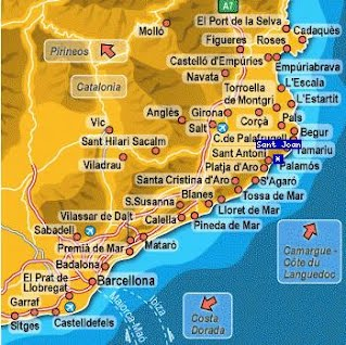 Carte Environ Barcelone Espagne.Les Options A La Carte Excursions Au Depart De Barcelone