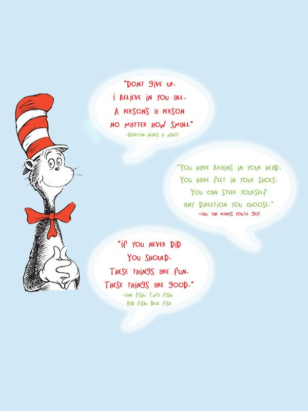 dr seuss writing style Official site of dr seuss and the cat in the hat featuring games, printable activities, the complete illustrated character guide, information about creator theodor geisel and his books for kids, parent and teacher resources, and a photo gallery of his artwork.