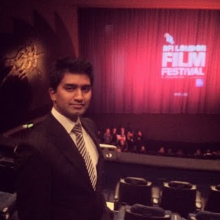 Me at the London Film Festival