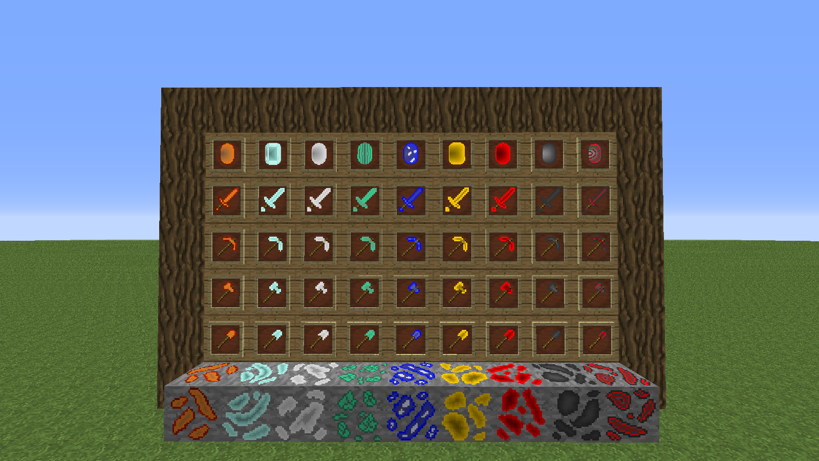 simple ores 1.7.10