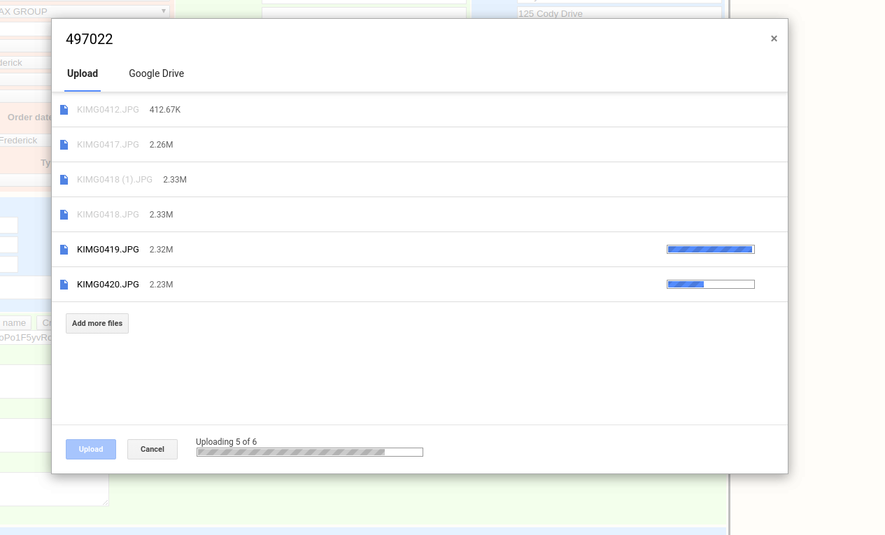 Google Drive Picker for Uploading and Files - AIRO Tech